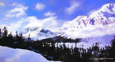 Digital Art - Winter 1 by Roger Lighterness