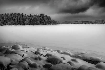 Photograph - Winter 19.12.2017 by Plamen Petkov