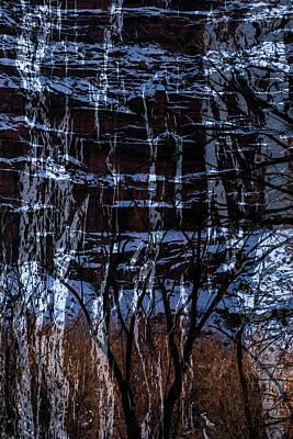Winter Abstract Art Print