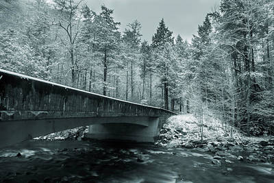 Photograph - Winter Across The River by Mike Eingle