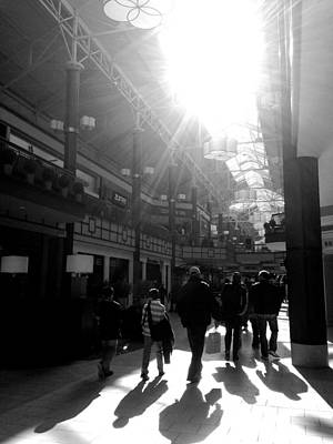 Photograph - Winter Afternoon At The Danbury Fair Mall by Polly Castor