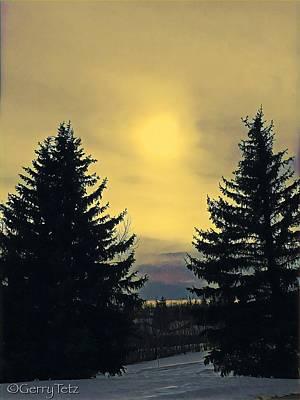 Priska Wettstein Pink Hues - Winter Afternoon by Gerry Tetz