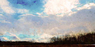 Photograph - Winter Afternoon Sky by Spyder Webb