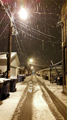 Photograph - Winter Alley by Zac AlleyWalker Lowing