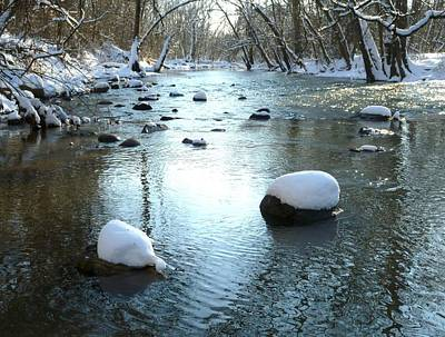 Wall Art - Photograph - Winter Along The Big Darby by Robert Papps