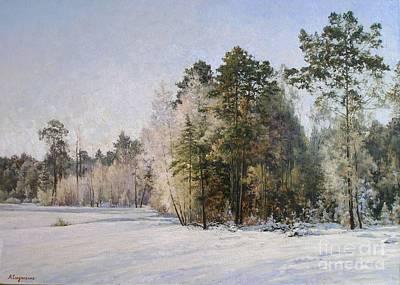 Winter Art Print by Andrey Soldatenko