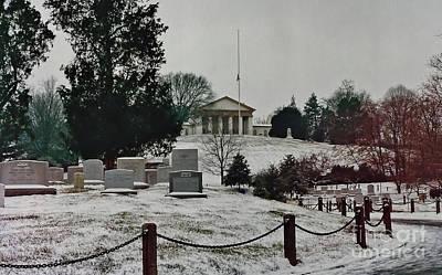 Photograph - Winter At Arlington  by D Hackett