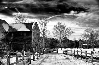 Photograph - Winter At Batso Village by John Rizzuto