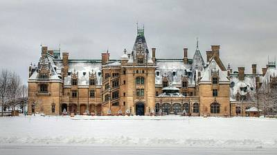 Photograph - Winter At Biltmore Asheville North Carolina by Carol Montoya