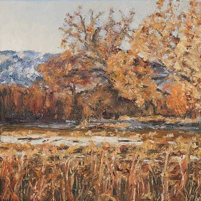 Painting - Winter At Bosque Del Apache by Candi Hogan