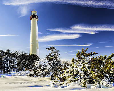 Photograph - Winter At Cape May Light by Nick Zelinsky