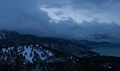 Photograph - Winter At Diamond Peak by Sean Sarsfield