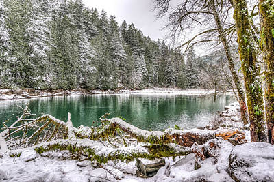 Photograph - Winter At Eagle Creek by Spencer McDonald
