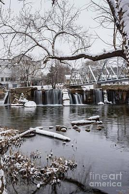 Photograph - Winter At Finley Dam by Jennifer White