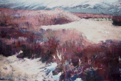 Pastel - Winter At Fish Slough Iv by Anita Stoll