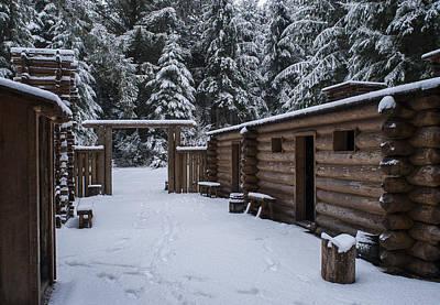 Photograph - Winter At Fort Clatsop by Robert Potts