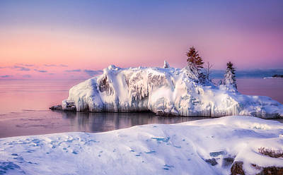Photograph - Winter At Hollow Rock by Rikk Flohr