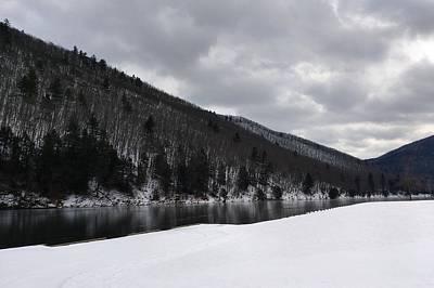 Winter At Kettle Creek Art Print