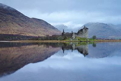 Photograph - Winter At Kilchurn Castle by Stephen Taylor