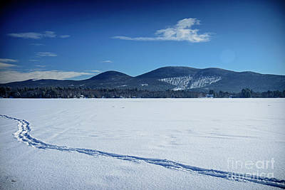 Photograph - Winter At Porter Lake by Alana Ranney