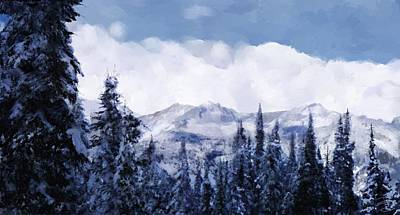 Winter At Revelstoke Art Print