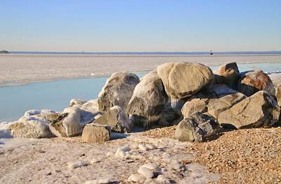 Photograph - Winter At The Beach by Karen Silvestri