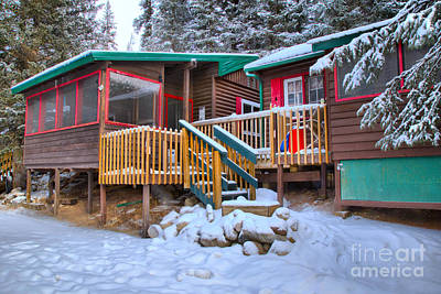 Photograph - Winter At The Beauty Creek Hostel by Adam Jewell