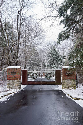 Photograph - Winter At The Gate by Jennifer White
