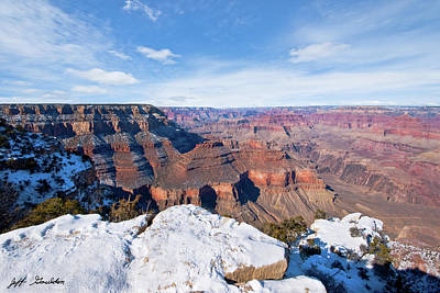 Photograph - Winter At The Grand Canyon by Jeff Goulden
