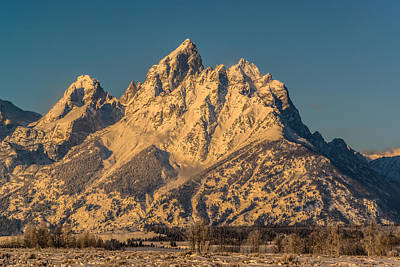 Winter At The Grand Art Print by Yeates Photography