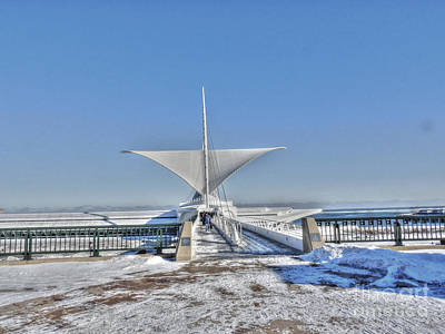Photograph - Winter At The Mam by David Bearden