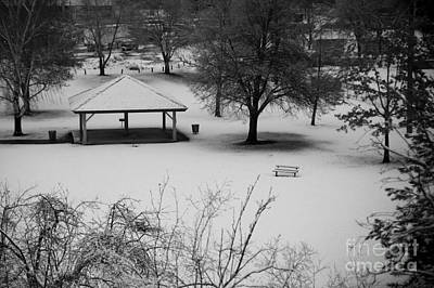 Winter At The Park Art Print by Idaho Scenic Images Linda Lantzy