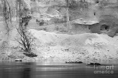 Photograph - Winter At The River by Alexander Kunz