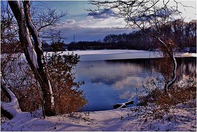 Winter At Twin Lakes Art Print