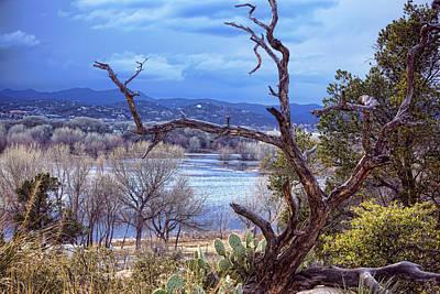 Photograph - Winter At Willow Lake by Ryan Seek