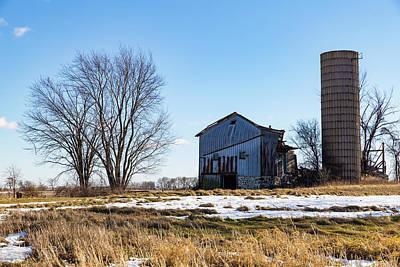 Photograph - Winter Barn by Kathleen Scanlan