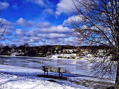 New Glasgow Photograph - Winter Beauty by Kathleen Sartoris
