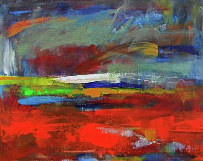Painting - Winter Beginnings by Walter Fahmy