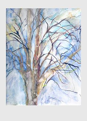 Painting - Winter Birch by Claudia Smaletz