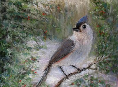 Pastel - Winter Bird by Susan Jenkins