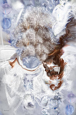 Winter Bliss Art Print by Linda Sannuti