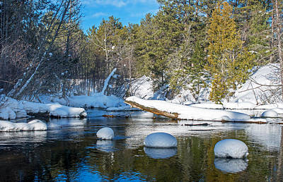 Photograph - Winter Blues by Gary McCormick