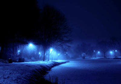 Photograph - Winter Blues by Henryk Niestroj