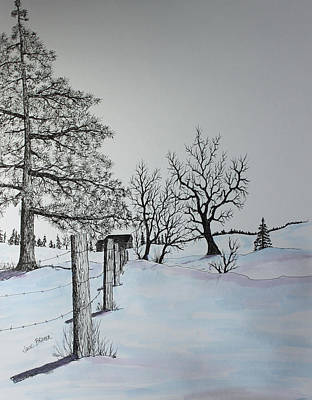 Painting - Winter Blues by Jack G  Brauer