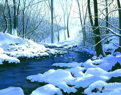 Painting - Winter Blues  by Michael Swanson