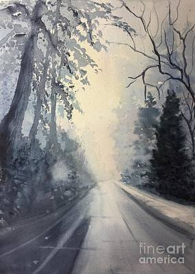 Painting - Winter Blues by Yohana Knobloch