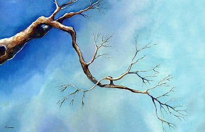 Painting - Winter Branching by Catherine Twomey