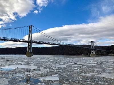 Photograph - Winter Bridge by Cornelia DeDona