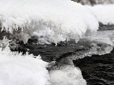 Photograph - Winter Brook by Jouko Lehto