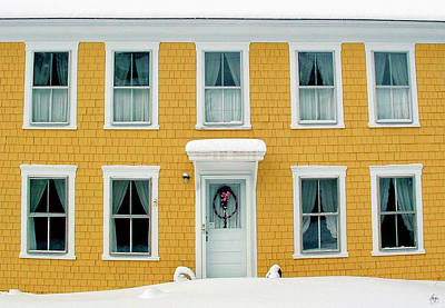 Photograph - Winter Calls At The Summer Door by Wayne King